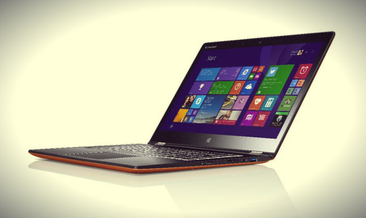 CES 2015. Lenovo Yoga 3 showed 11.6 and 14 inches