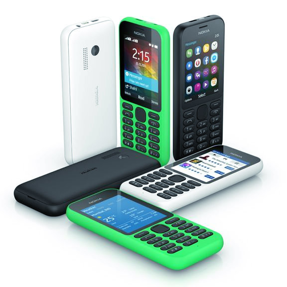 CES 2015. The star of the exhibition - Nokia 215