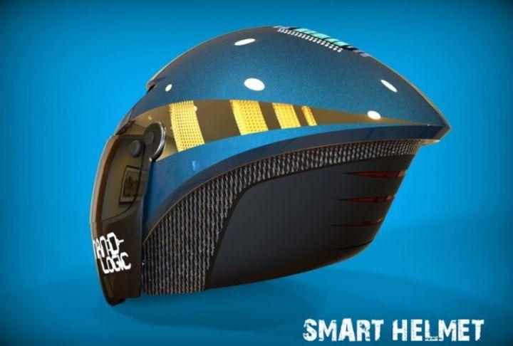 Create the most 'intelligent' helmet