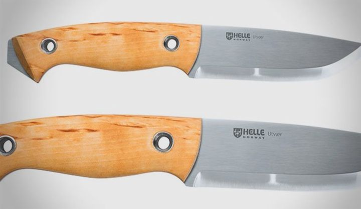 Helle Utvær - the modern working knife design Jesper Voxnæs