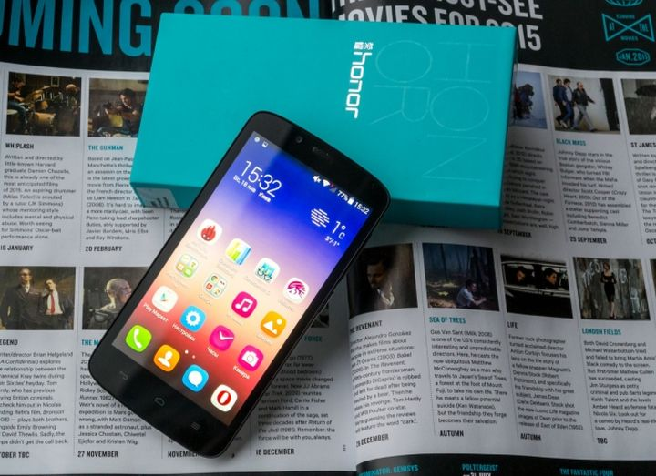 Honor 3C Lite - smartphone horoshist at a modest price