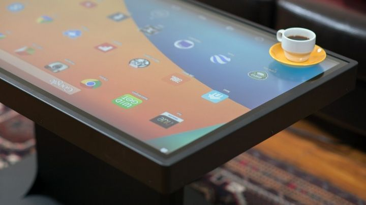 Ideum Duet - «smart» table with Windows 8 and Android