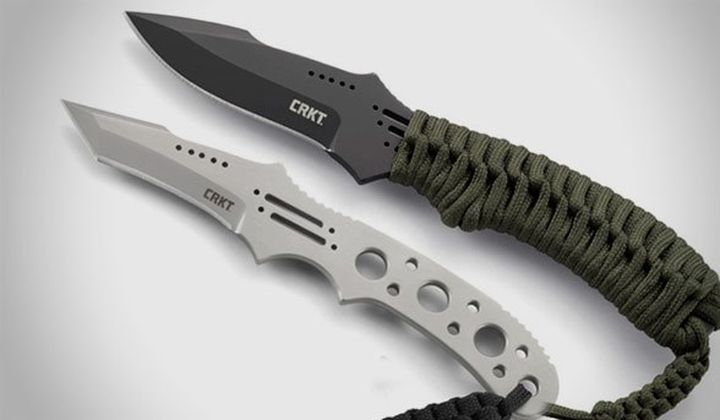 New and modern knives from Fixed Blade CRKT 2015