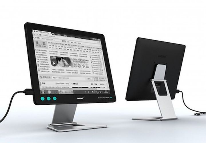 PaperLike monitor electronic ink