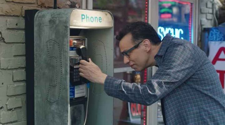 From a payphone calls can be made via SKYPE