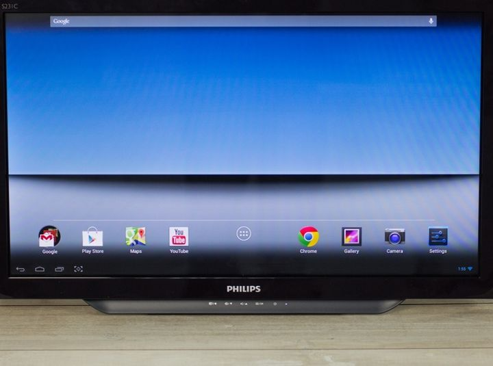 Philips S231C - modern monoblock for Android