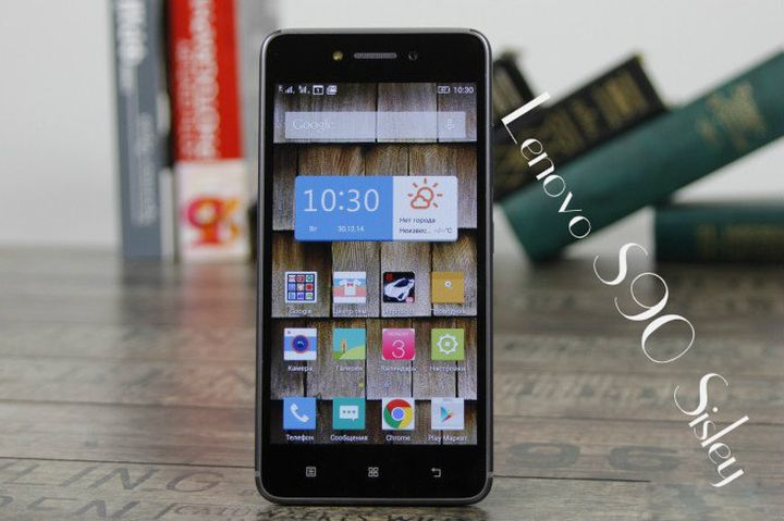 Review of Android-smartphone Lenovo S90 Sisley
