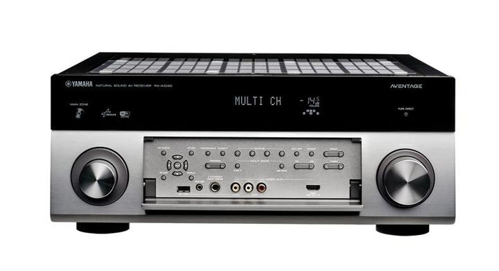 Review of AV-receiver Yamaha RX-A1040: A good result