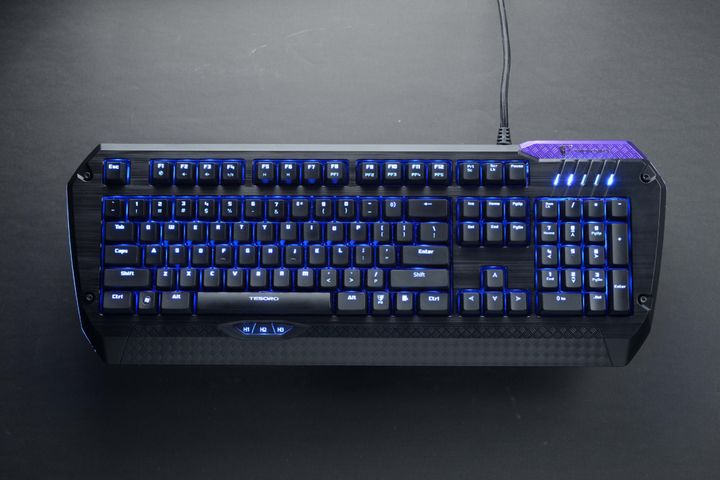 Review gaming keyboard Tesoro Lobera Supreme