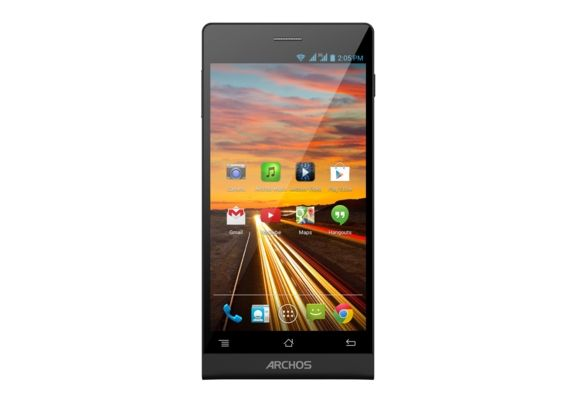 Review of the modern smartphone Archos Oxygen 50c