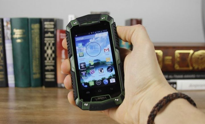 Review secure smartphone Sigma mobile X-Treme PQ15
