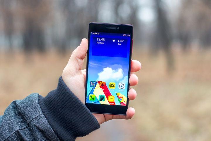 Review smartphone Lenovo VIBE X2: the main design!