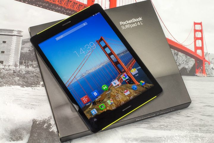 Review of the tablet PocketBook SURFpad 4 L - Retina-like display and 8 cores!