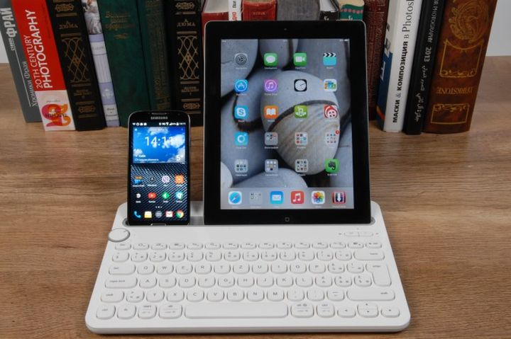Review of the new Wireless Keyboard Logitech Bluetooth Multi-Device Keyboard K480