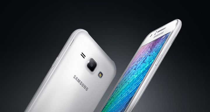 Samsung presented its first smartphone new line Galaxy J