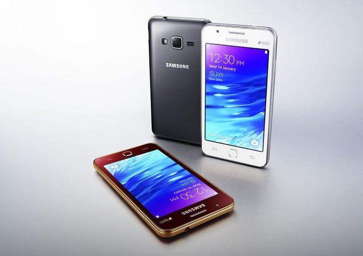 Samsung Z1 - the official announcement Tizen-smartphone for $ 100
