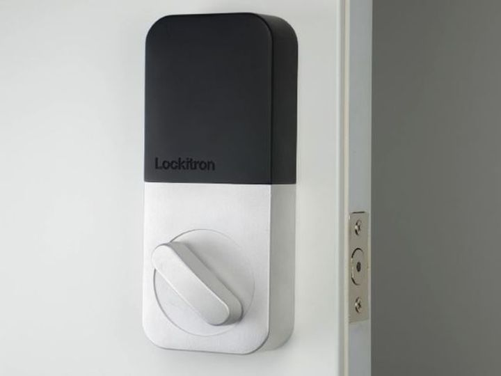 Smart and new Bolt lock controlled from your smartphone