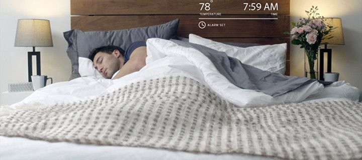 Smart and modern mattress cover to disturb the optimal temperature of your bed
