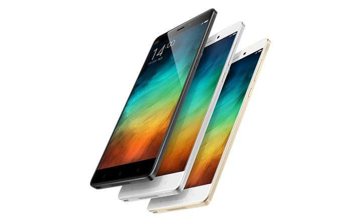Xiaomi introduced glass Phablet Mi Note and Mi Note Pro