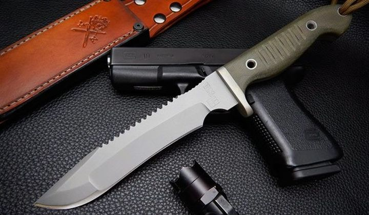 Vehement knives introduced a new and modern version combat knife Alpha