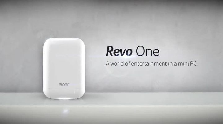 Acer Revo One - modern compact entertainment center