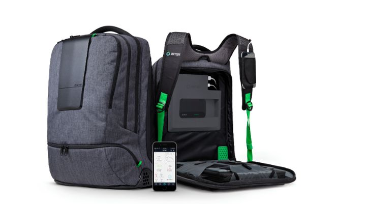 "AMPL Labs designs ""most new elegant backpack in the world"""