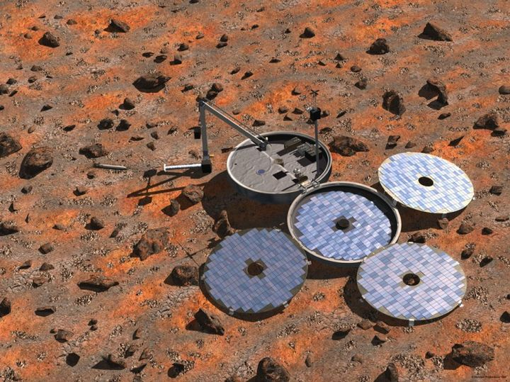 Beagle-2 again found on the surface of the red planet