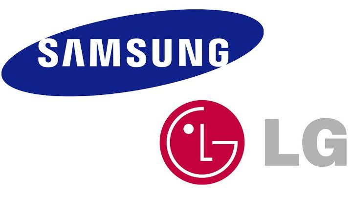 Beginning of the court battle between LG and Samsung controlled companies