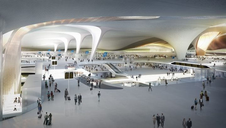 Beijing will build the world's largest new airport