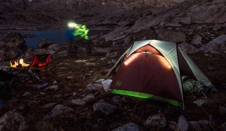 Big Agnes Ripple Creek UL2 - new light tent with lighting system