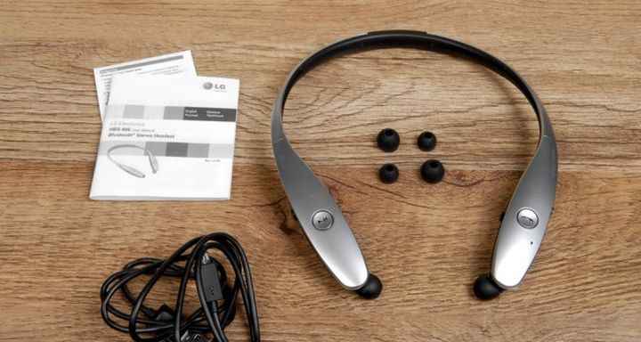 Bluetooth-headset wireless LG Tone Infinim HBS-900 review
