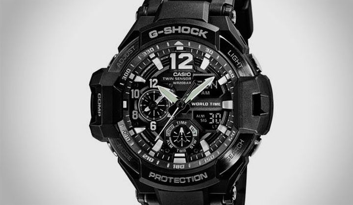 Casio G-Shock GA-1100 - new and modern lines resistant watches from gravity master