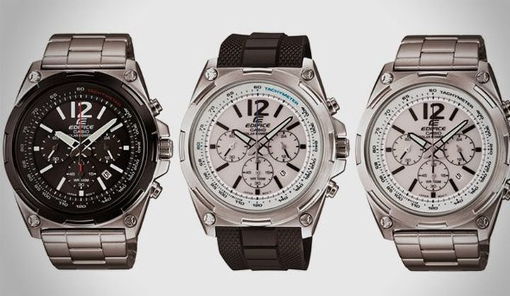 CASIO present new and modern chronographs Edifice EFR-545 and EFR-546