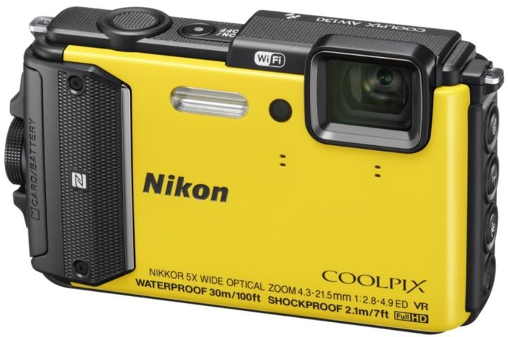 New Durable Waterproof Camera Nikon COOLPIX AW130 and Nikon COOLPIX S33