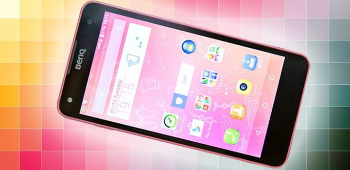 F52 - new powerful smartphone from BenQ