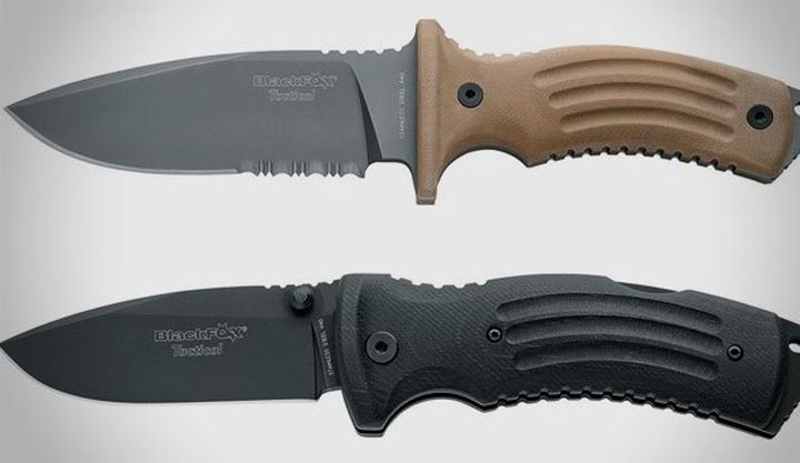 FOX Cutlery released new eight of the new blade from the line BlackFox Tactical