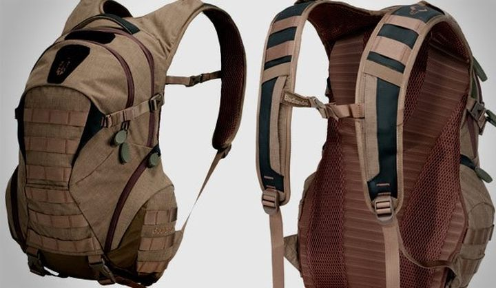 HDX, RAP18 and BOS - new and modern strong assault backpack Badlands