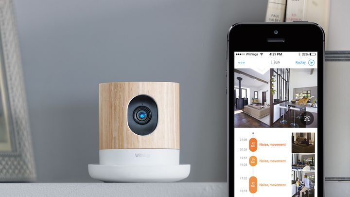 Home wireless HD-camera Withings Home review