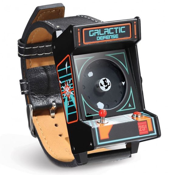 It's 1980s Arcade Wristwatch - watch for fans of arcade