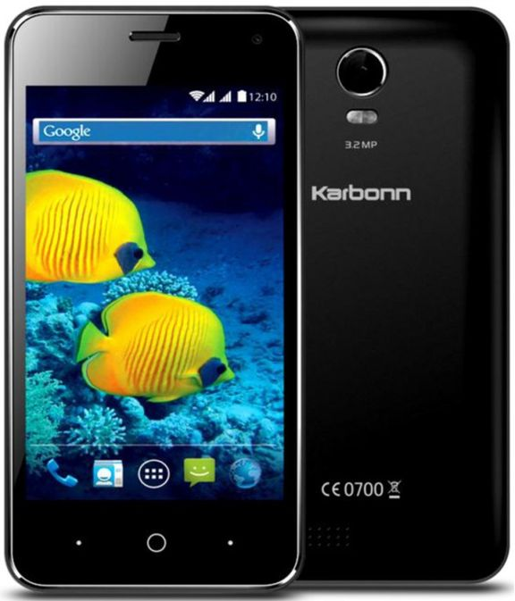 Karbonn S15 - a budget new smartphone from India