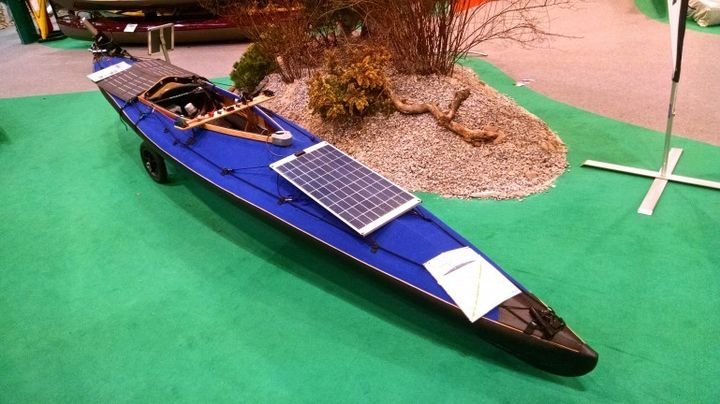 Klepper E-Kayak: new kayak with a solar-powered electric motor