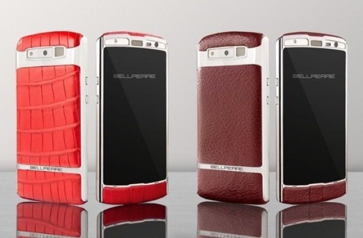 Leather and Steel: New Bellperre Touch smartphone challenge Vertu