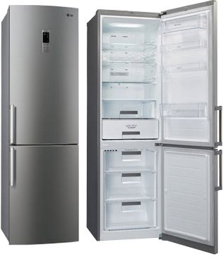LG has presented a new and modern large refrigerator