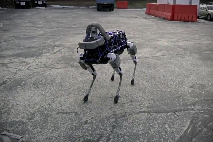 Meet: Spot - four-legged new robot from Boston Dynamics