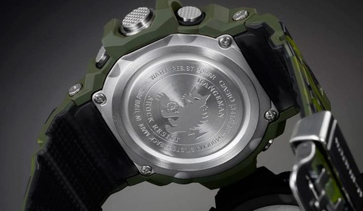 Men in Camo - new and modern series wrist watches CASIO G-Shock