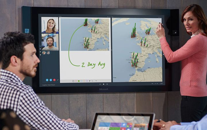 Why New Microsoft Surface Hub interesting than HoloLens
