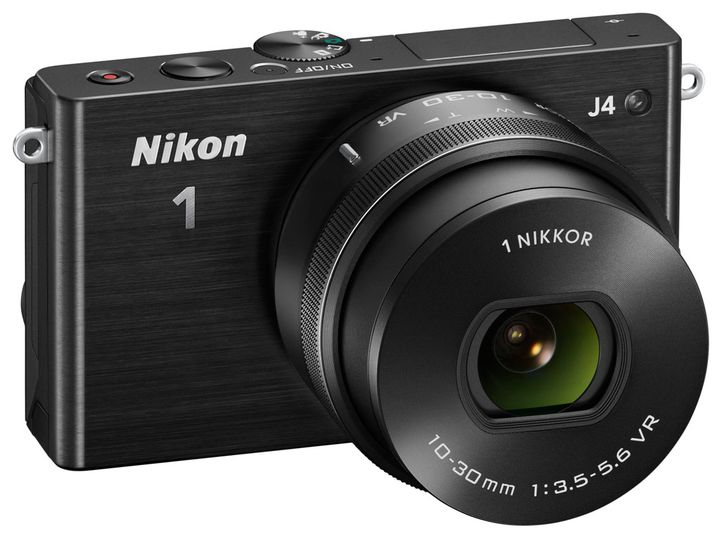 Mirrorless cameras Nikon J4 review