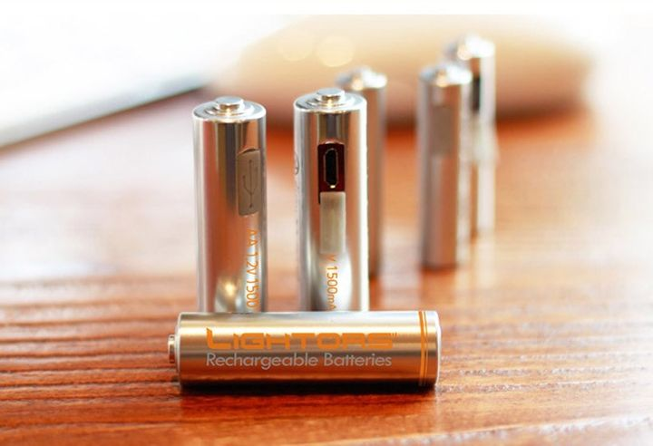 "Modern ""Batteries"" Lightors can be recharged via USB"