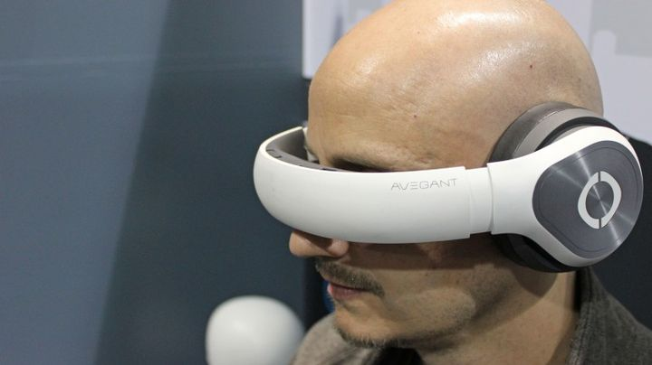 New and modern device for virtual reality Avegant Glyph goes beyond the usual