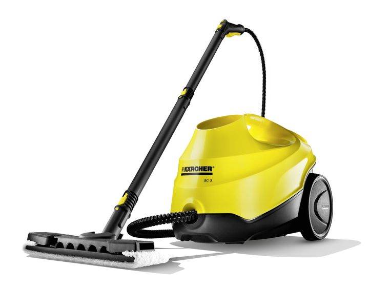 Modern Kärcher SC 3 - the fastest steam cleaner